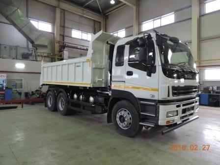 852967248dd3e6cb3942a1fe6af42945 - ISUZU GIGA 6x4 Chassis for Dump SHORT