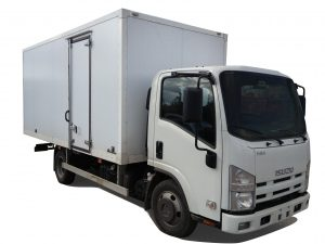 Изотермический фургон ISUZU ELF 5.2