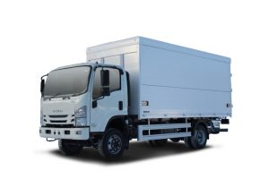 ISUZU ISUZU ELF 7.5 4×4 Промтоварный фургон с трехсторонней загрузкой — Евро 5