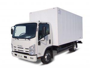 Промтоварный фургон ISUZU ELF 7.5